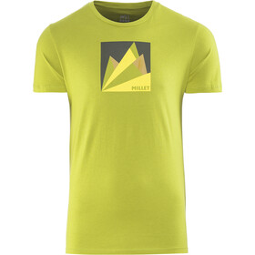 Millet Fan Mountain Shortsleeve Shirt Herren green moss